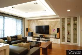 2015现代时尚客厅电视背景墙设计