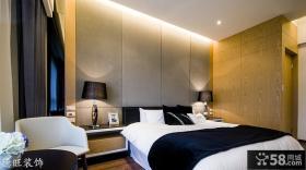 简约现代两室一厅卧室装修效果图