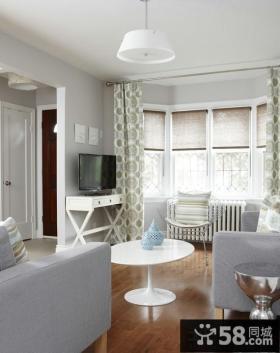 北欧设计室内装修飘窗图片