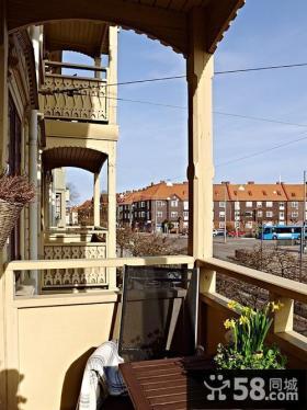 客厅小阳台设计效果图