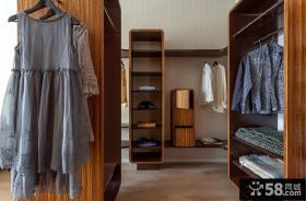 中式衣柜装修设计