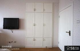 卧室电视背景墙壁纸效果图