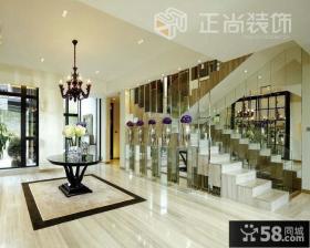 入户大厅室内楼梯设计