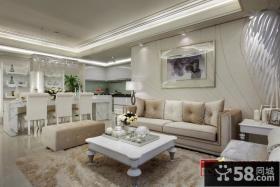 优质欧式风格客厅装修图