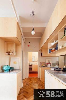 简约风格小公寓室内厨房设计图片