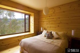 日式家居带飘窗的小卧室装修设计