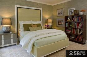 14万打造现代元素美式风格书房装修效果图大全2012图片