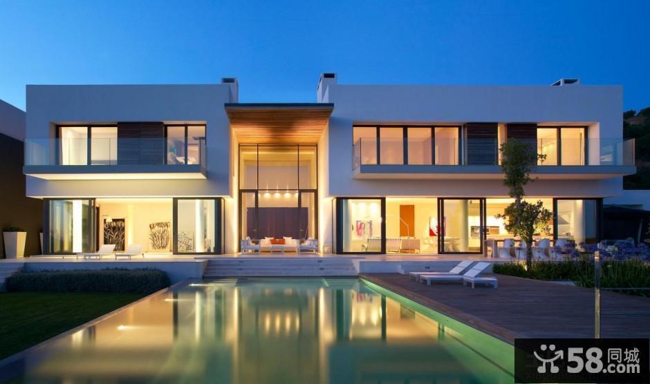超级豪华别墅外观设计图