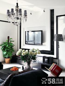 现代风格家装电视背景墙装修效果图