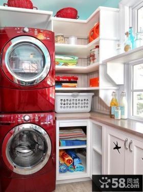 简约阳台洗衣房装修效果图