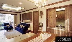 美式别墅家庭装修设计效果图