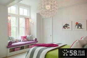 卧室飘窗装修效果图 卧室吊顶装修效果图