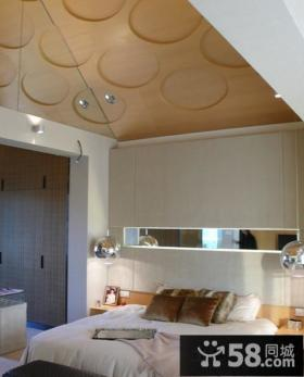 现代风格别墅卧室效果图