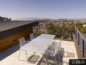 露天阳台餐厅装修效果图 2013优质休闲阳台图片