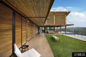 家庭装修开放式阳台设计效果图