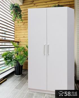 现代阳台储物柜设计图