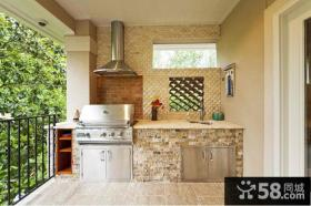 优质阳台厨房装修效果图