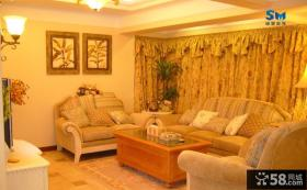 客厅瓷砖电视背景墙设计效果图