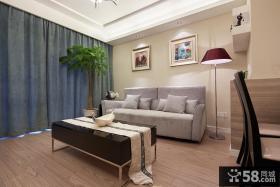 优质简约小户型客厅装修效果图