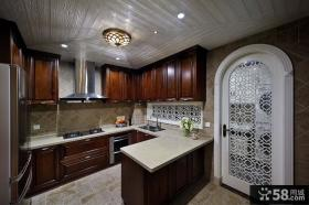 美式装修设计厨房橱柜大全