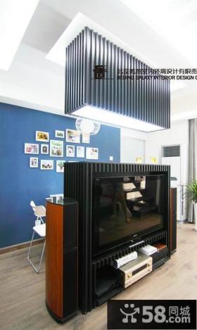 2013欧式客厅电视背景墙装修设计