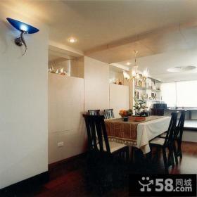 美式风小复式餐厅装修效果图片