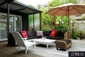 阳台家具设计效果图