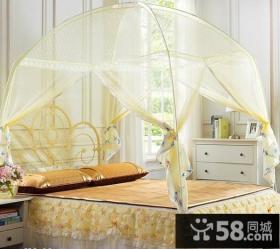 欧式卧室空调蚊帐图片