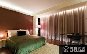 现代简约小户型卧室装修效果图大全2014图片