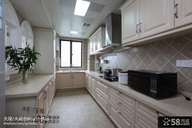 简欧风格厨房装修效果图大全2013图片