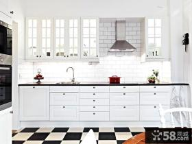 北欧风格小户型小厨房设计效果图