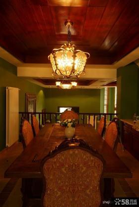 小复式楼装修效果图 复式楼餐厅装修样板间