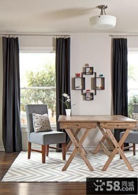 美式装修风格样板房餐厅图片