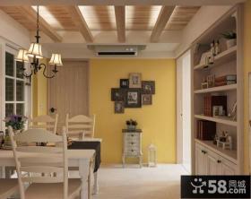 家装室内餐厅吊顶图片欣赏