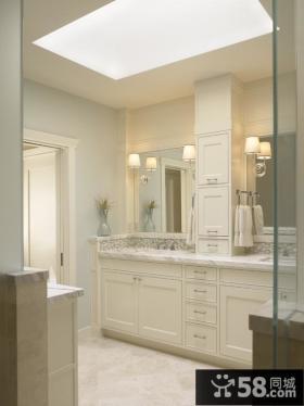 小卫生间装修效果图大全2012图片 卫生间收纳柜装修效果图