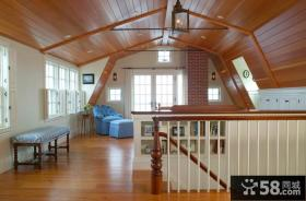 复式阁楼客厅装修效果图