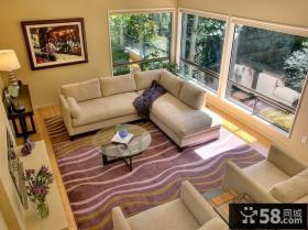 60平小户型客厅装修效果图
