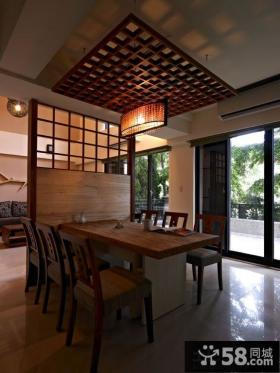 日式风格餐厅效果图