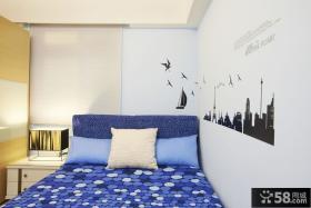 现代风格小卧室图大全欣赏