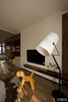 后现代风格室内电视背景墙图片