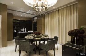 后现代主义风格西餐厅设计效果图欣赏