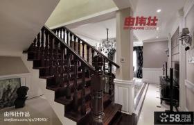 欧式别墅楼梯装修效果图大全2013图片