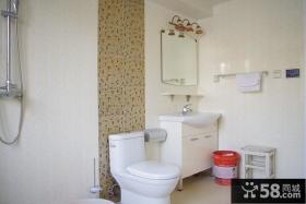 90平米小户型室内卫生间装修图片