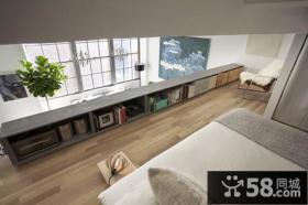 小复式宜家风格卧室装修效果图大全2014图片