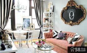 40平米小户型装修 欧式客厅装修效果图