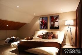 时尚现代温馨卧室装饰