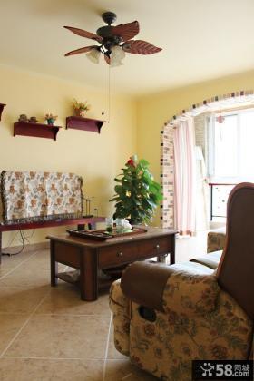 欧式风格客厅吊顶装修效果图片欣赏