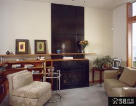 现代美式装修风格客厅装修效果图