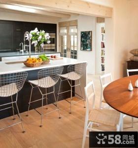 地中海风格二居室厨房装修效果图大全2014图片