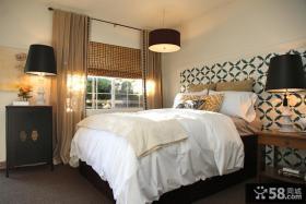 卧室壁纸装修饰设计图